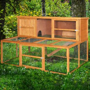 6 Foot Kendal Rabbit Hutch