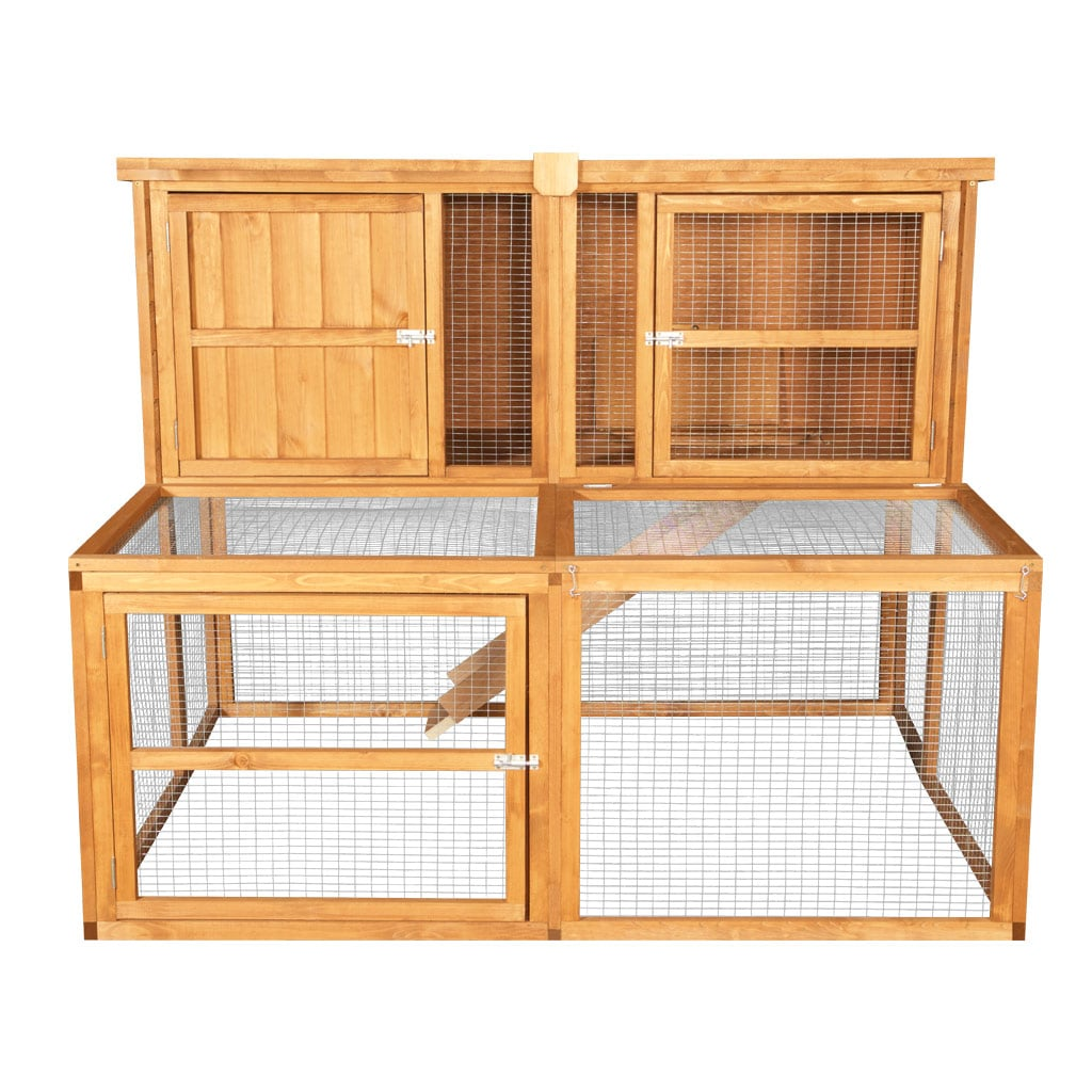 Home Amp Roost 5ft Kendal Luxury Rabbit Hutch Amp Run Combo